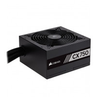 Corsair CP-9020123-UK CX Series 750 W CX750 ATX/EPS 80 Plus Bronze Power Supply Unit - Black