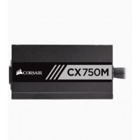 Corsair CX750M ATX/EPS Semi-Modular 80+ Bronze Power Supply Unit, 750 W - Black